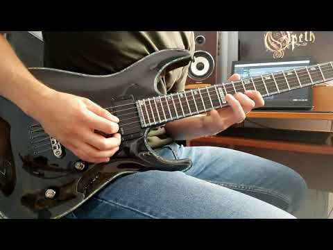 Opeth - Blackwater Park (guitar cover)