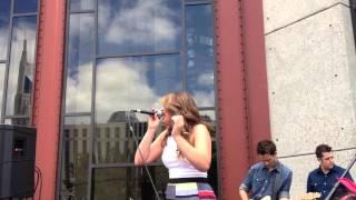 "Lauren Alaina Singing ""Same Day, Different Bottle"" (6/8/14)"