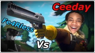 CEEDAY vs FE4RLESS BEST MOMENTS (CEEDAY GOT LIGMA)
