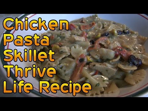 Chicken and Pasta Skillet Thrive Life Recipe