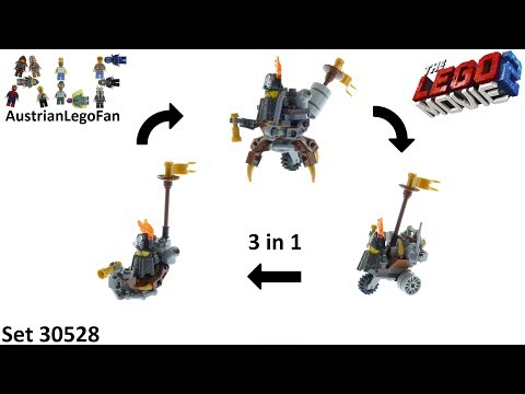 Vidéo LEGO The LEGO Movie 30528 : Mini Master-Building MetalBeard (Polybag)