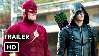 Сериалы CW, DCTV Elseworlds Crossover Trailer - The Flash, Arrow, Supergirl, Batwoman (HD)