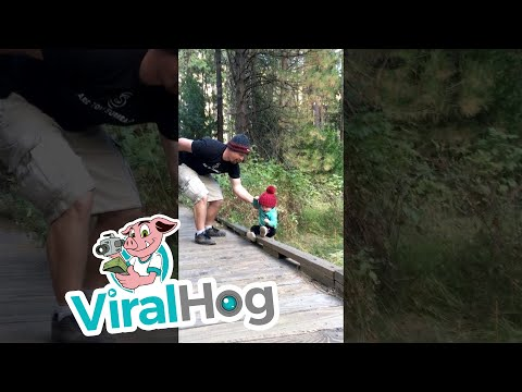 Epic Dad Save Kid accidentally on vacation