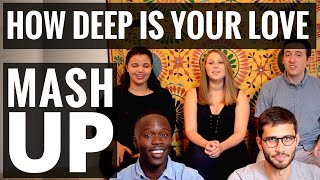 BeeGees / Calvin Harris - How Deep Is Your Love - A CAPPELLA MASHUP! Couch Video #8