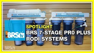 Filter your water like a PRO with the BRS 7-Stage Pro RODI0 - BRStv