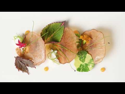 POTATO CHIP GLASS Molecular Gastronomy by Chef Chris Anderson