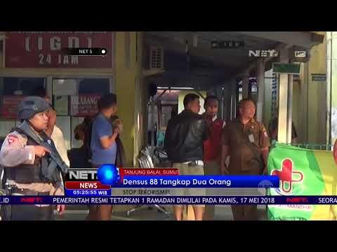 Densus 88 Tangkap Dua Orang Terduga Teroris Di Tanjung Balai -NET5