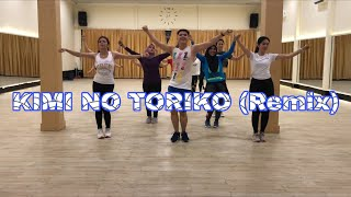 Kimi no toriko remix/ tik tok/ zumba fitness