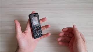 Мобильный телефон teXet TM-203 Black/Red от компании F-Mart - видео