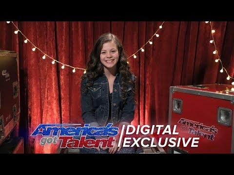 Angelina Green Chats Candidly About Winning Heidi Klum's Golden Buzzer - America's Got Talent 2017 (видео)