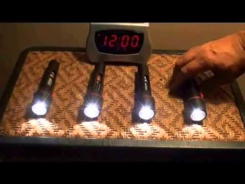 BATTERY TEST DURACELL ENERGIZER  RAYOVAC WHICH ONE LASTS LONGEST!