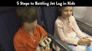 5 Steps to Battling Jet Lag in Kids GIVEAWAY | CloudMom