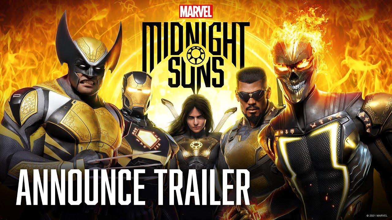 Trailer di Marvel's Midnight Suns