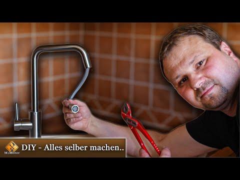 Küchenarmatur montieren – Anleitung / Homelody Mischbatterie Installieren