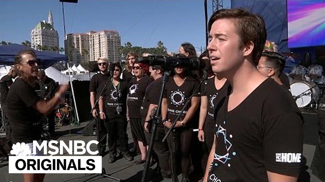 Transgender Singers Unite Voices In New Choir | MSNBC thumbnail