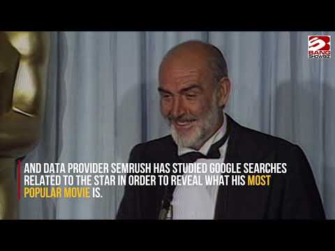 Sir Sean Connery's most popular film revealed!