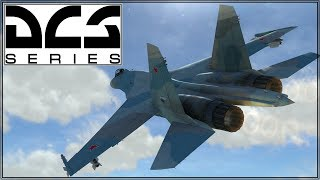 DCS 2.5 - Caucasus - SU27 - Online Play - Clean Run