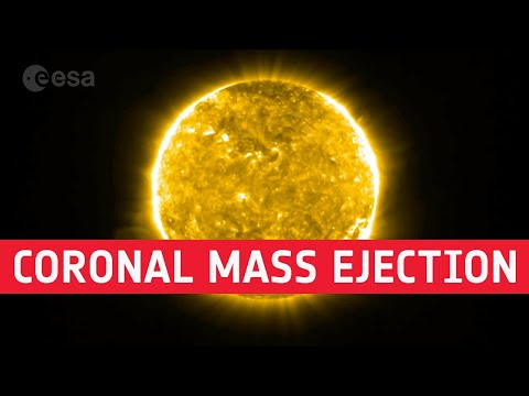 One of NASA's Solar Orbiter tools caught its first video of a coronal mass ejection