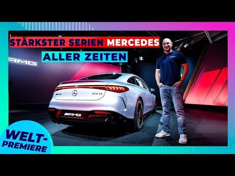 Mercedes EQS AMG: Sogar stärker als der Taycan Turbo S!