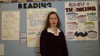 Anchor Charts: Promoting Independence In Applying Reading Comprehension Strategies  (Virtual Tour)