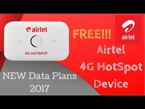 FREE AIRTEL 4G HOTSPOT DEVICE With New Offers!