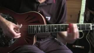 Delta Blues - Slide guitar lesson-Part 1- The Old School