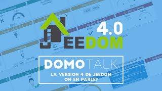 Jeedom V4.0 | Nouveautés, widget, design (tour de la version 4)