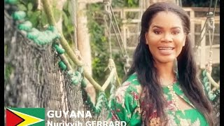 Nuriyyih Gerrard Contestant from Guyana for Miss World 2016 Introduction