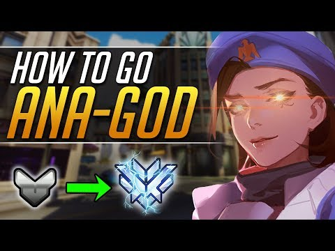 Try The TRICKS PRO ANA GODS Exploit - Overwatch Guide - Gameplay Tips (видео)