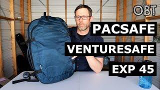 Pacsafe Venturesafe EXP45 Security Travel Backpack