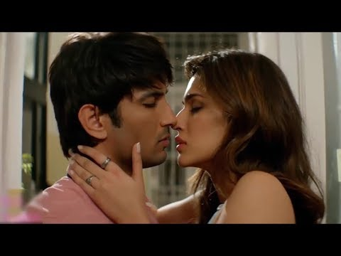 Kriti Sanon HOT kissing scene Raabta
