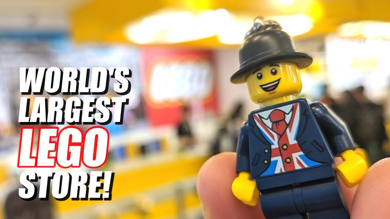 Inside the World's Largest LEGO Store