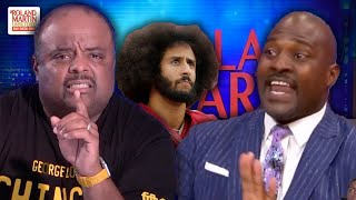 'Shameful Display On Television': Roland Martin Deconstructs Marcellus Wiley's Kaepernick Commentary