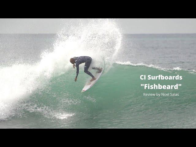 """CI """"Fishbeard"""" Twin Fin Surfboard Review by Noel Salas Ep 97"""