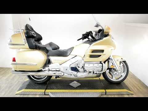 2006 Honda Gold Wing® Premium Audio in Wauconda, Illinois - Video 1