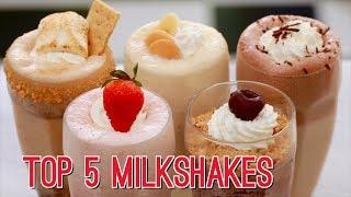 Top 5 Homemade Milkshakes - Gemma's Bigger Bolder Baking Ep  175