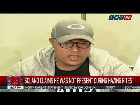 Suspect in 'Atio' hazing surrenders
