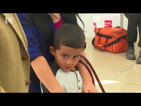 Honduran mother seeking asylum in U.S. reunited with son
