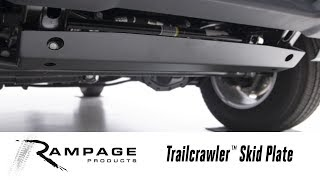 In the Garage™ with Total Truck Centers™: Rampage Products Trailcrawler™ Skid Plate
