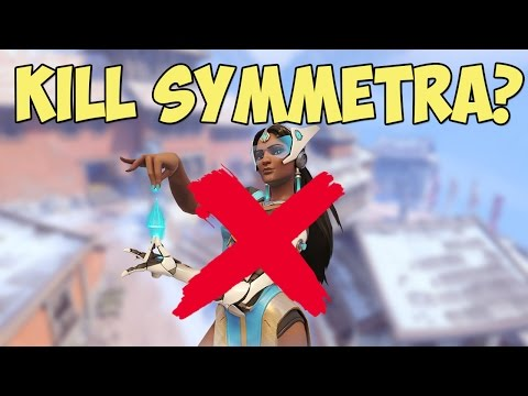 This is The New Way to Kill Symmetra... | Overwatch Funny Moments #21