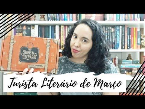 Unboxing Turista Literário de Março (2019)   VEDA #17   Um Livro e Só