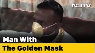 COVID-19 News: Pune Man Wears Mask Made Of Gold Worth Nearly Rs. 3 Lakh