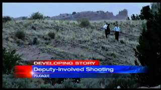 Man dead after getting into shootout with deputies