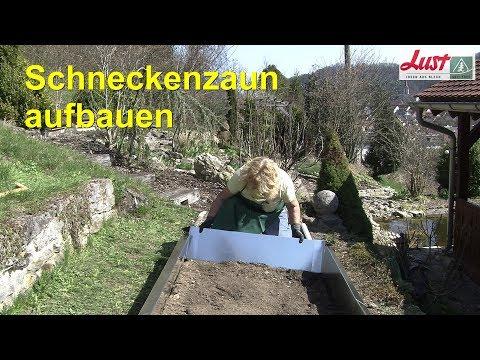 Schneckenzaun aus verzinktem Stahlblech  🐌 ökologische Schneckenabwehr 🐌  Lust Blechwaren GmbH