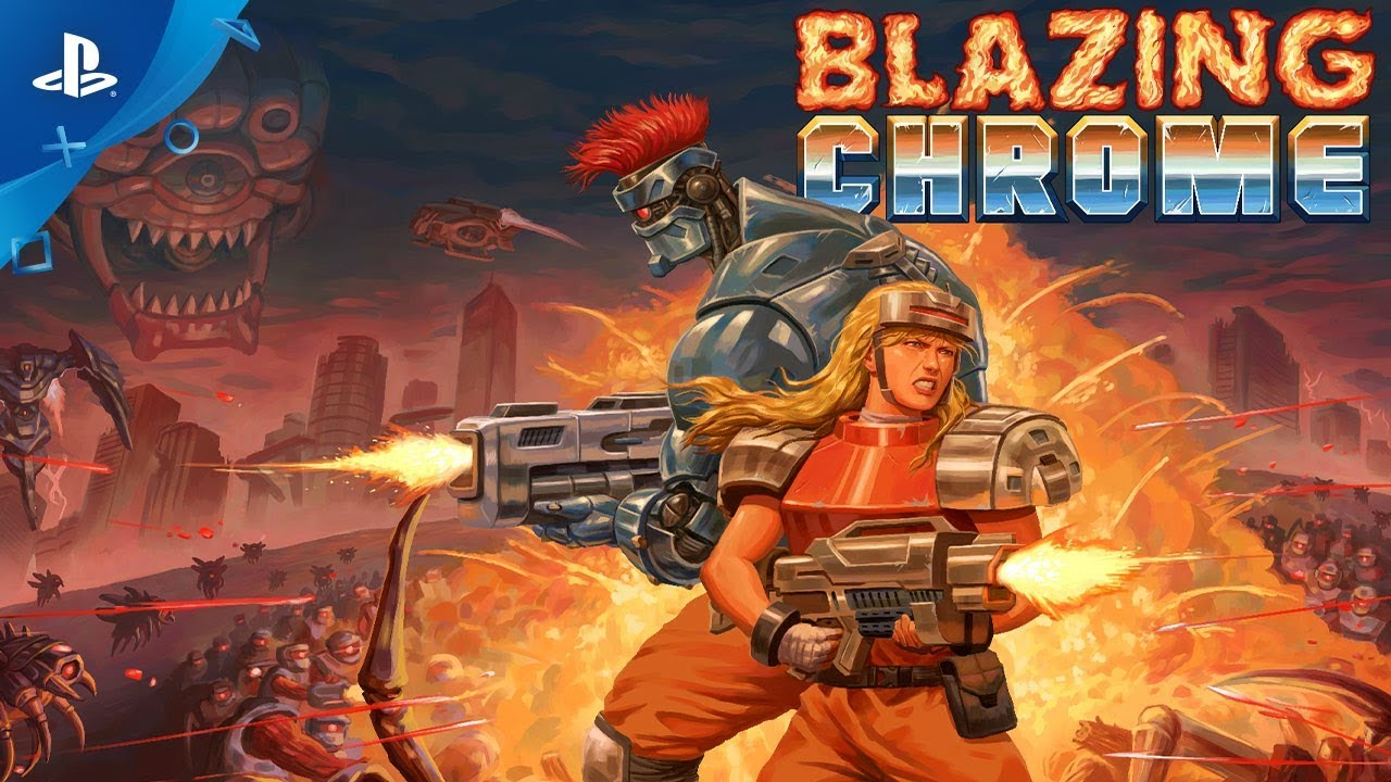 Behind the Bonkers Boss Battles of Blazing Chrome, Out Tomorrow