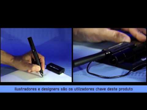 Wacom Inkling – sistema de digitalização com caneta