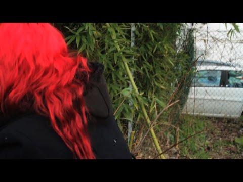 Donna con la ciambella foto