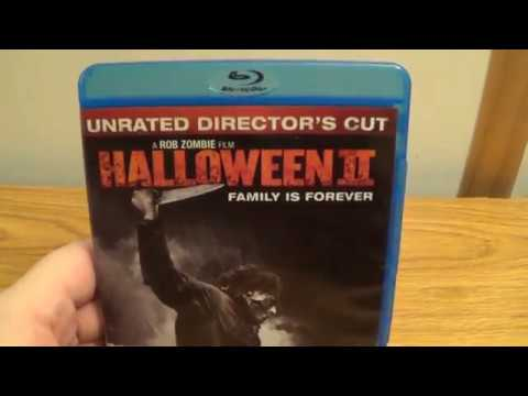 Rob Zombies Halloween 2 blu-ray unboxing