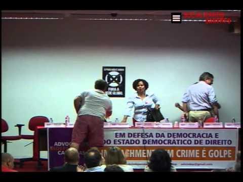 ATO JURISTAS PELA DEMOCRACIA - NÃO VAI TER GOLPE!