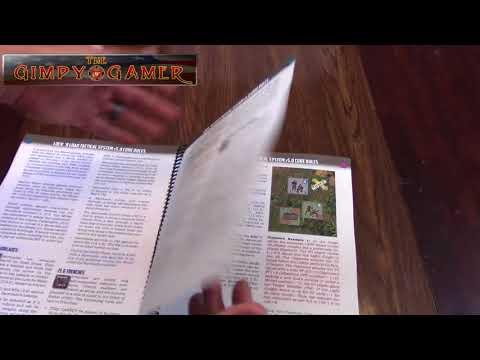 The Gimpy Gamer Looks At LnLT v5.0 Rulebook & LnLP Gravity Dice
